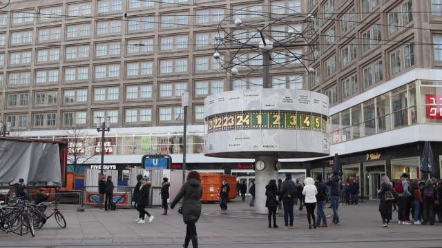 berlin cityscape - german culture stock videos & royalty-free footage