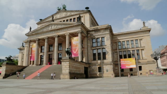 berlin concert hall - concert hall stock videos and b-roll footage