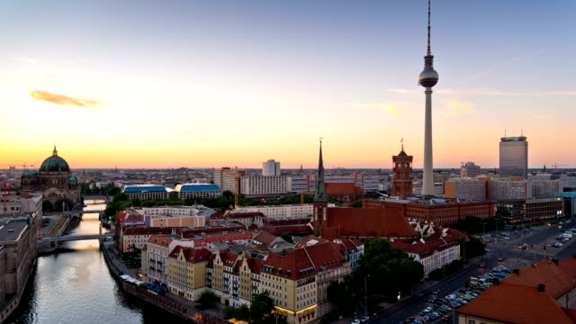 Berlin, Germany  - Time Lapse