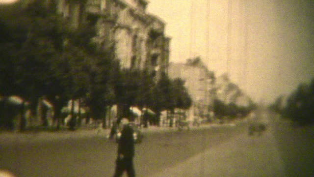 berlin germany (archival 1950) - 1950 stock videos & royalty-free footage