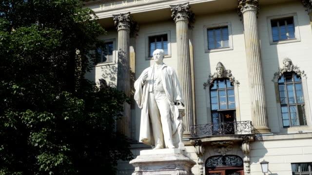 Berlin Humboldt-Universität Hauptgebäude (4 k UHD zu/HD)