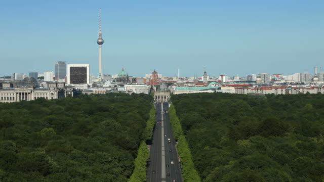 Berlin panoramic cityscape