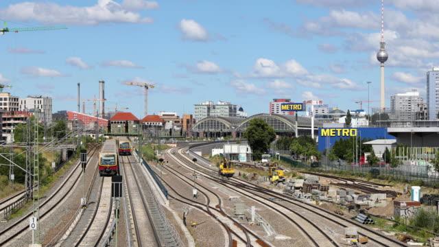 Berliner Eisenbahn-System und Stadtbild