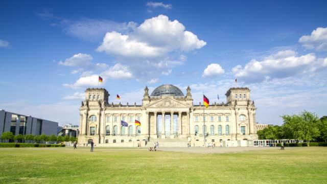Berliner Reichstag 4K Zeitraffer