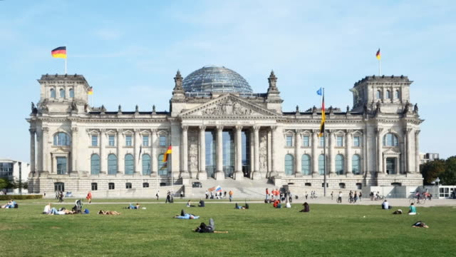 ベルリン国会議事堂 cinemagraph - parliament building点の映像素材/bロール