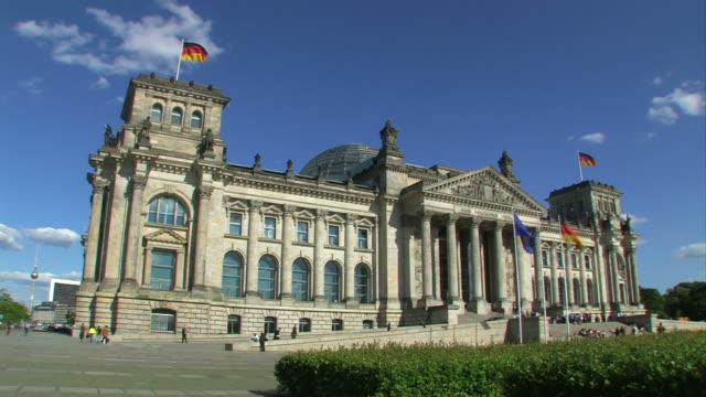 ベルリンライヒスターク(ドイツ連邦議会議事堂) - parliament building点の映像素材/bロール