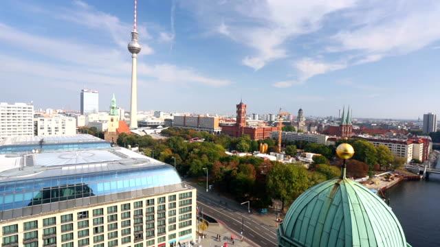 Berlin Skyline, panning