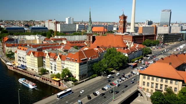 ベルリンの街並み、パンニング