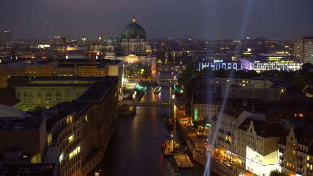 Berlin Skyline with Berliner Dom