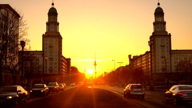Berlin Skyline with sunlight