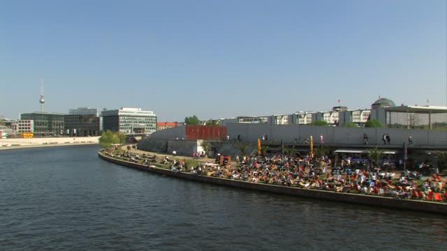 berlin spree - river spree stock videos & royalty-free footage