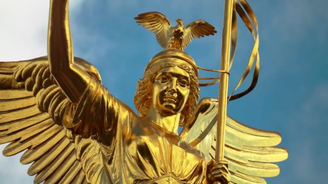 Berlin Statue of Victoria called Goldelse Portrait