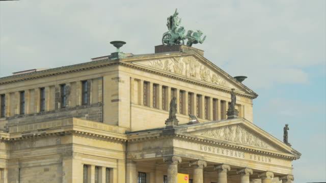 berlin, statue,konzert house,gendarmenmarket, ms, - male likeness stock videos & royalty-free footage