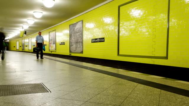 Berlin U-Bahn-Zeitraffer