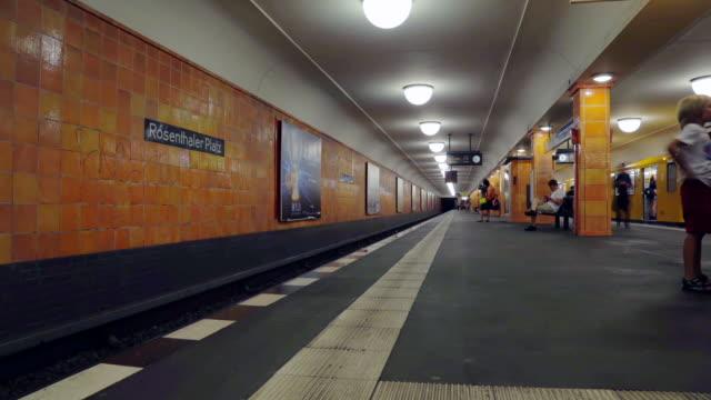 Berlin U-Bahn metro timelapse