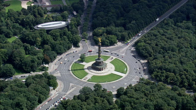 Berlin Victory Column  - Aerial View - Berlin,  Berlin,  Stadt,  Germany