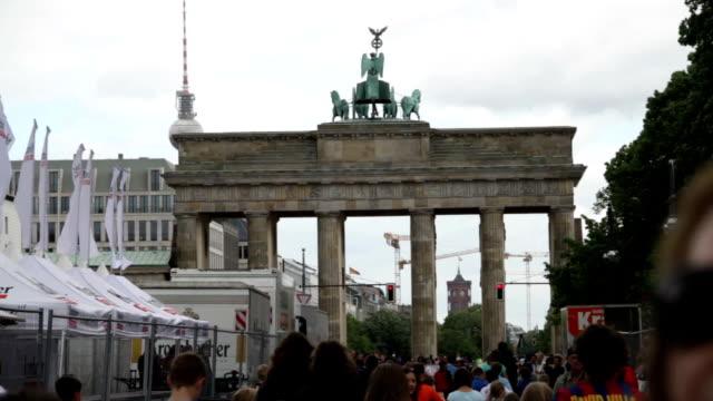 berlin - 記念建造物点の映像素材/bロール