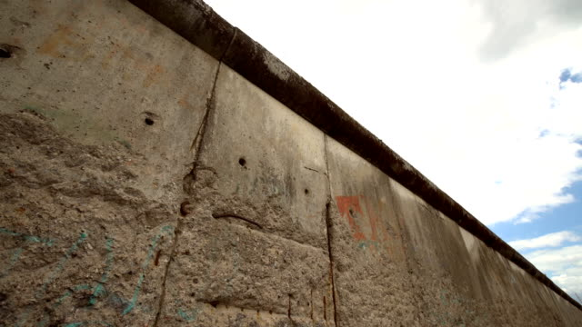 berlin wall, time lapse - prison wall stock videos & royalty-free footage