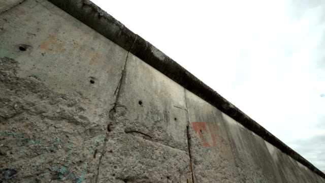 berlin wall - surrounding wall stock videos & royalty-free footage