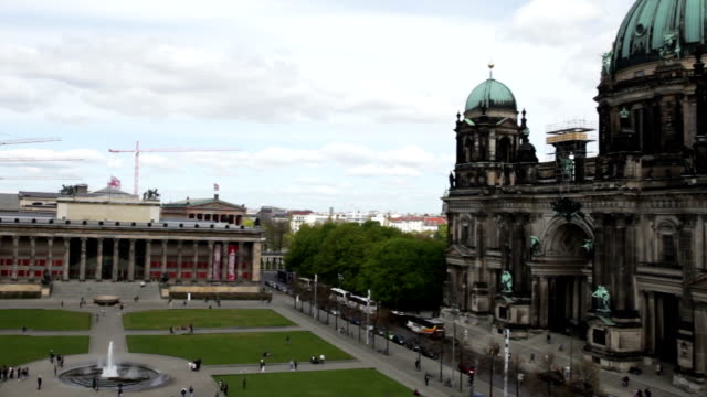 Berliner Dom - Berlin Cathedral and Tower skyline