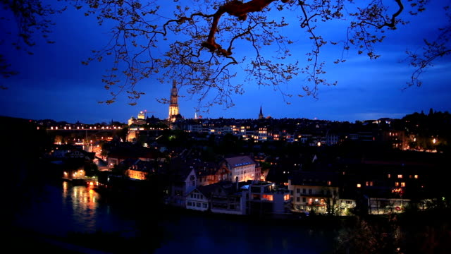 Bern City in the NIght