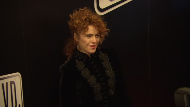 bernadette peters at sunset boulevard opening night at palace theatre on february 09 2017 in new york city - バーナデット ピータース点の映像素材/bロール
