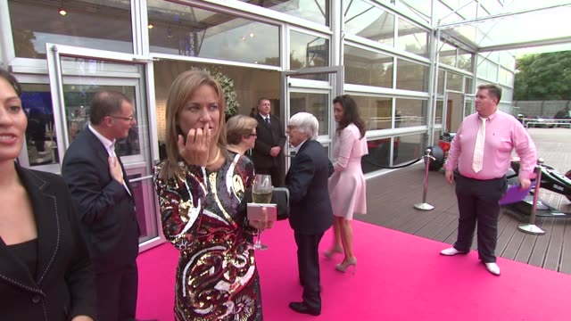 bernie ecclestone at the f1 party in aid of great ormond street hospital children's charity at battersea evolution on july 04, 2012 in london, england - bernie ecclestone stock videos & royalty-free footage