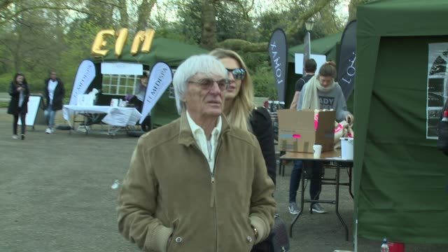 bernie ecclestone on april 23 2016 in london england - bernie ecclestone stock videos & royalty-free footage