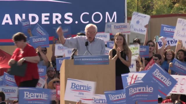 Bernie Sanders rally in Boulder Colorado