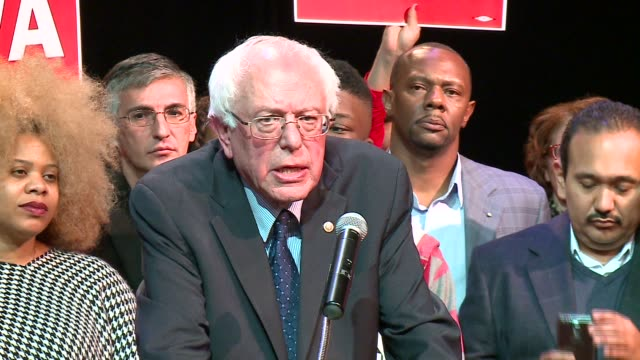 wgn bernie sanders talks about fighting against segregated housing and schools in the 60s institutional racism and the broken criminal justice system... - prison reform stock videos & royalty-free footage