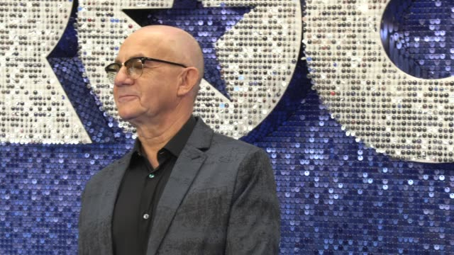 bernie taupin at odeon luxe leicester square on may 20, 2019 in london, england. - biographie stock-videos und b-roll-filmmaterial