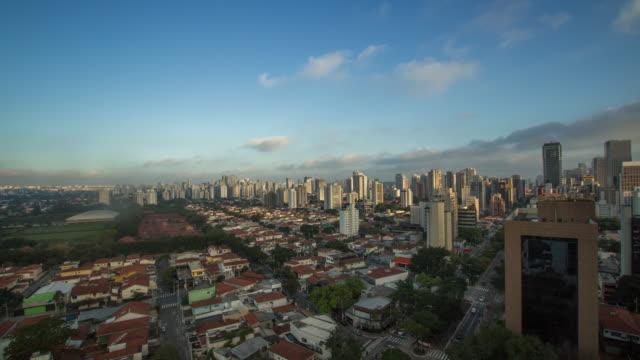vídeos de stock, filmes e b-roll de tl - berrini region -  sao paulo, brazil - dia