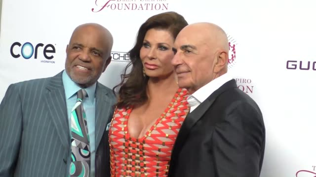Berry Gordy Robert Shapiro and Linell Shapiro at the Annual Summer Spectacular to Benefit the Brent Shapiro Foundation for Alcohol and Drug...