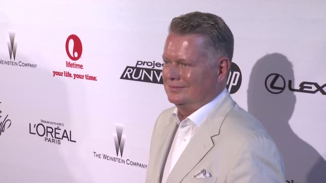 bert keeter at project runway 10th anniversary party at highline on july 17 2012 in new york new york - project runway stock videos and b-roll footage