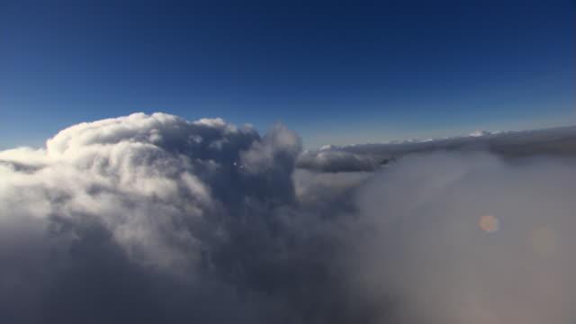 Beside cumulus upthrust
