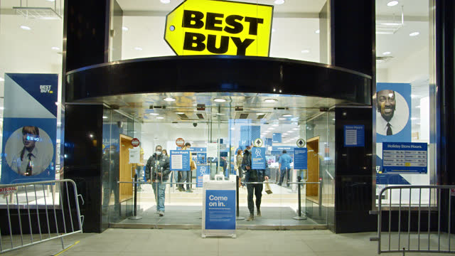 best buy. store. fifth luxury fashion avenue. manhattan. new york - collection stock videos & royalty-free footage