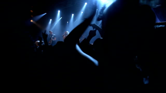 best concert ever! - rock group stock videos & royalty-free footage