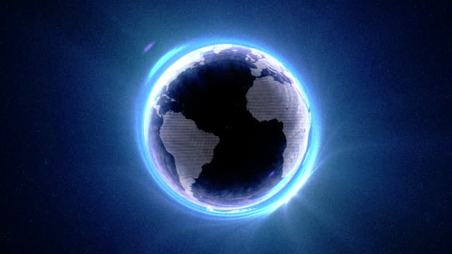 best digital world internet dots - fragility stock videos & royalty-free footage