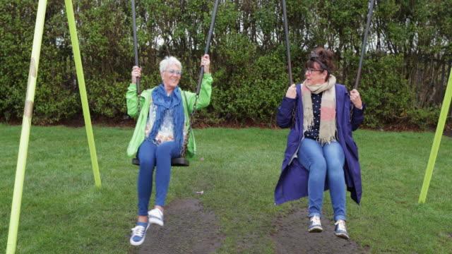 best friends hanging around - only senior women stock videos & royalty-free footage