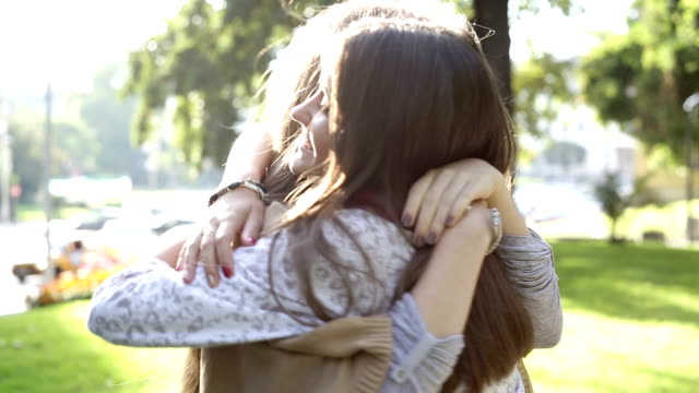 best friends hugging - eternity stock videos and b-roll footage