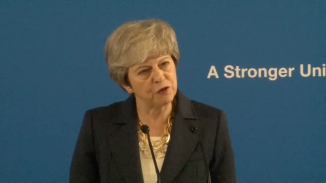 "best quality available theresa may has said the union can have a bright future if ""those of us who care for it act wisely"". the prime minister was... - accessibility stock videos & royalty-free footage"