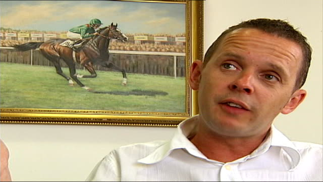 betfair suspends betting on poland open match; int bruce millington interview sot - リチャード・パロット点の映像素材/bロール