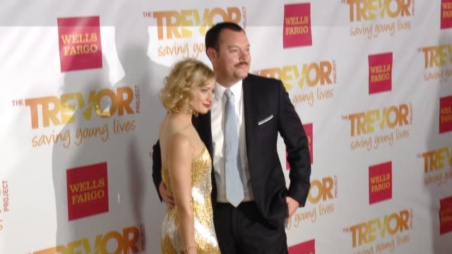 beth behrs at 16th annual trevor project benefit presented by wells fargo in los angeles ca - markenname stock-videos und b-roll-filmmaterial