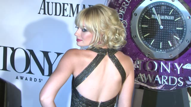 Beth Behrs at The 67th Annual Tony Awards Arrivals at Radio City Music Hall on June 09 2013 in New York New York