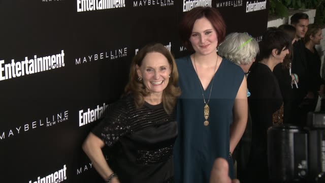 beth grant at 2016 entertainment weekly screen actors guild party at chateau marmont on january 29 2016 in los angeles california - entertainment weekly stock-videos und b-roll-filmmaterial