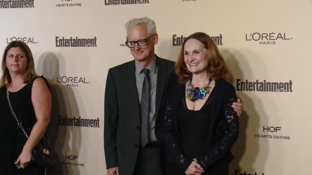 beth grant at entertainment weekly's preemmy celebration at fig olive melrose place on september 18 2015 in west hollywood california - entertainment weekly stock videos and b-roll footage