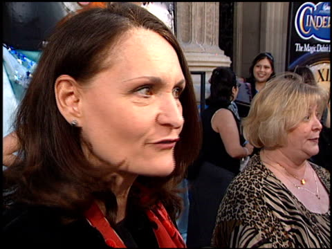 beth grant at the 'cinderella ii' premiere at the el capitan theatre in hollywood, california on february 23, 2002. - el capitan theatre stock videos & royalty-free footage