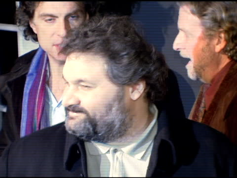 stockvideo's en b-roll-footage met beth ostrosky and artie lange at the entertainment weekly's viewing party for 2006 academy awards at elaine's in new york, new york on march 5, 2006. - entertainment weekly