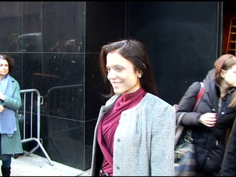 bethenny frankel at good morning america in new york 03/22/11 - good morning america stock videos and b-roll footage