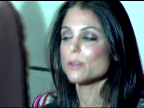 bethenny frankel at the paris hilton album release party at marquee in new york new york on august 16 2006 - marquee nightclub manhattan stock-videos und b-roll-filmmaterial